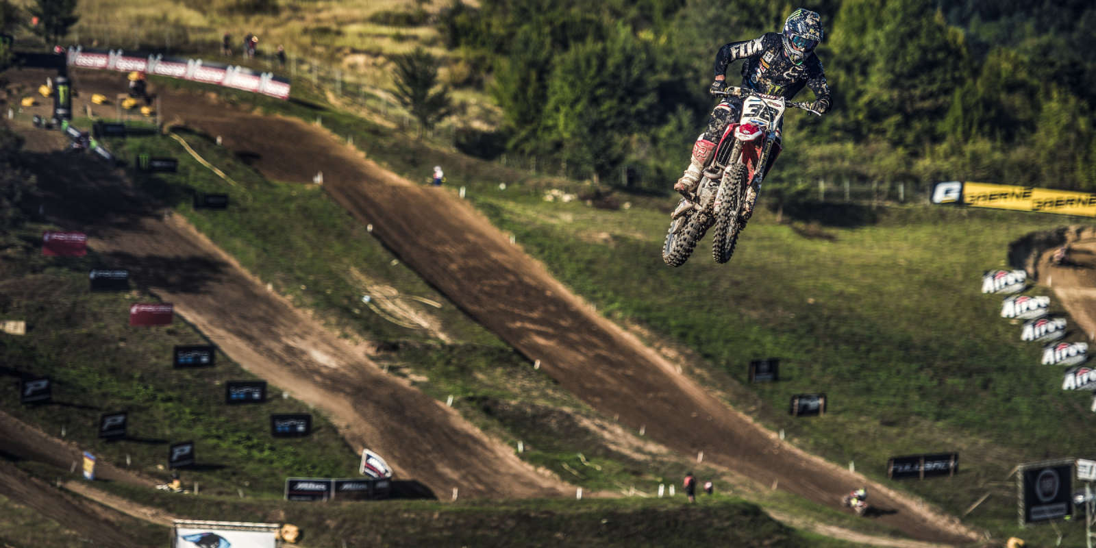 Panos Kouzis riding in Greece