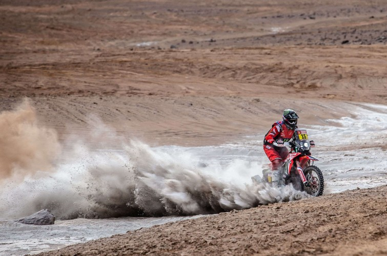 Ricky Brabec at the 2019 Dakar