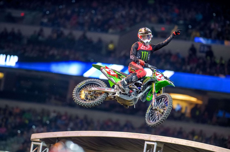Images from the SX event in Indianapolis, IN