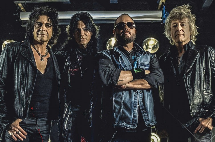 A New Revenge featuring Tim Ripper Owens promo photos and logo art files