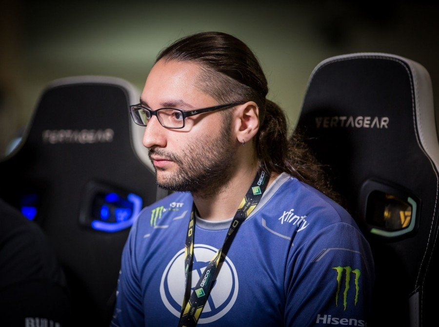 Photos of Evil Geniuses' Street Fighter V players at CEO 2018.