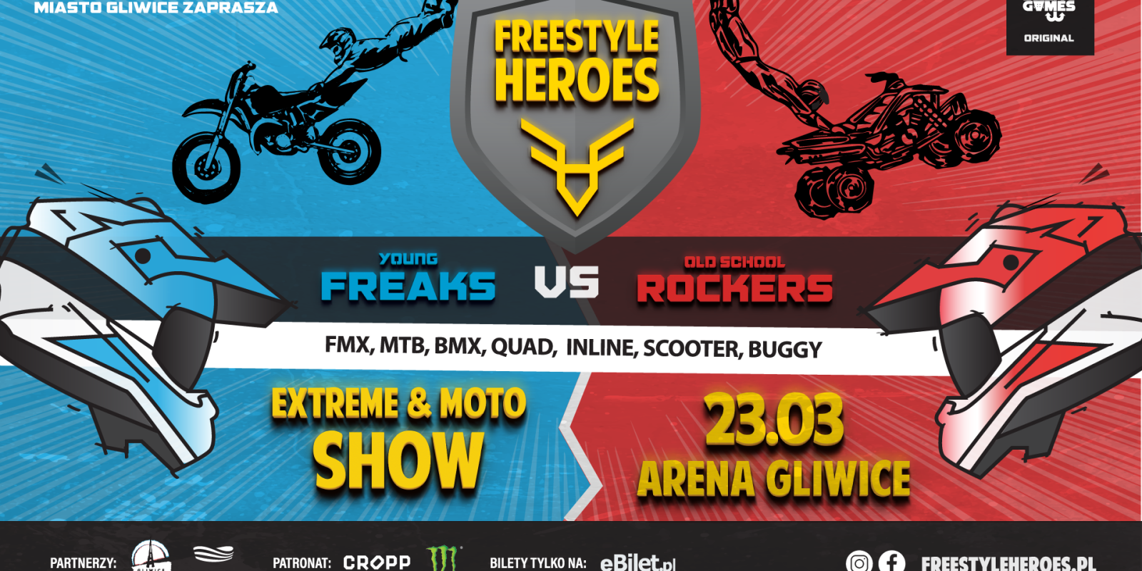 Posters of Freestyle Family event in Poland