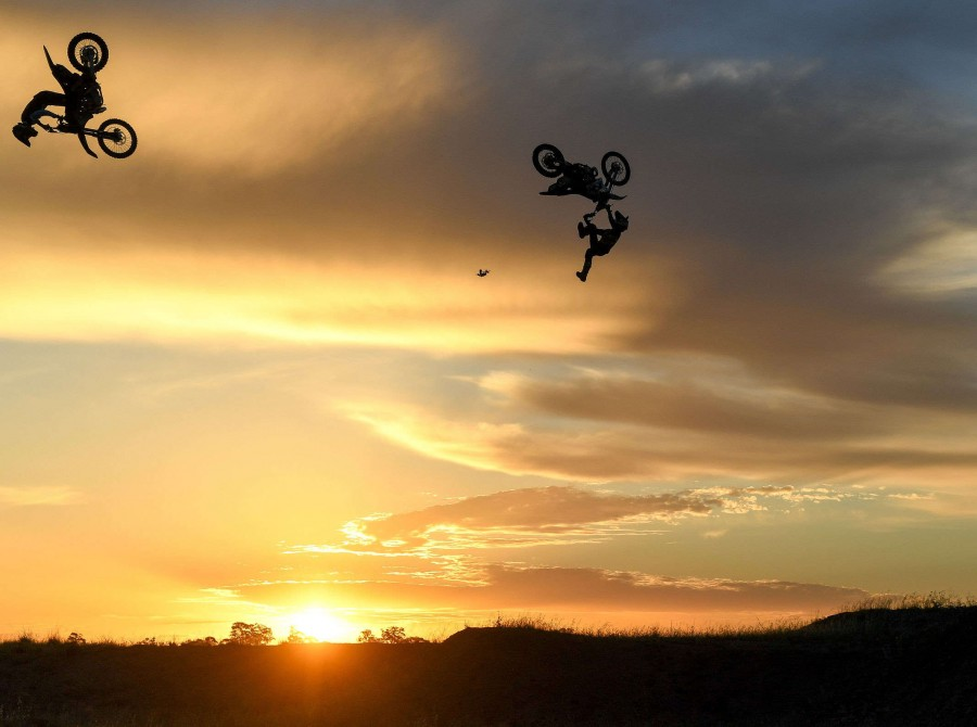 Assets from behind the scenes shooting for World of X Games moto x dirt