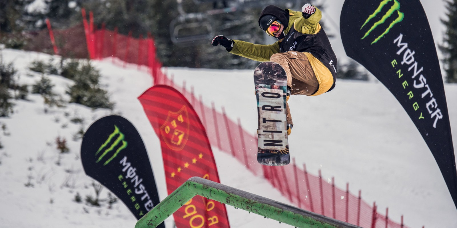 Pamporovo Freestyle Open is the biggest snowboard and freeski event in Bulgaria and is part of the European cup and world snowboard tour.