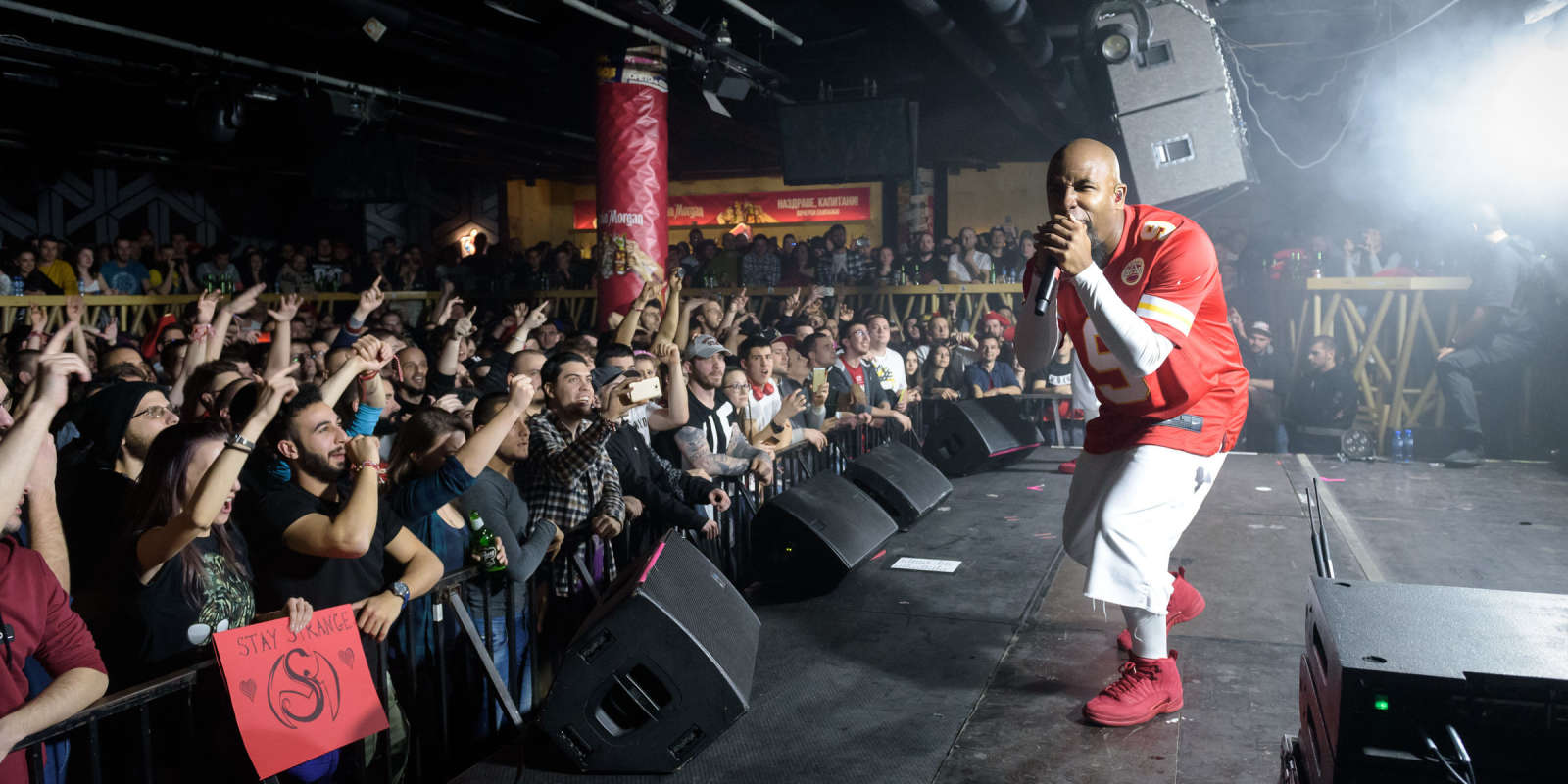 Shots taken during Tech N9NE show in Sofia, Bulgaria in march 2019.