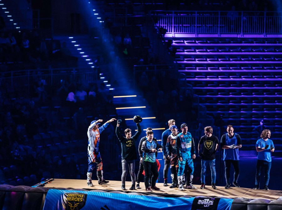 Images from Freestyle Heroes event in Gliwice, Poland.