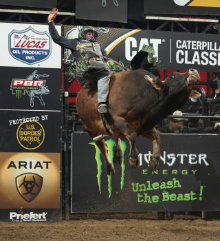 Images from the Kansas City PBR Unleash the Beast