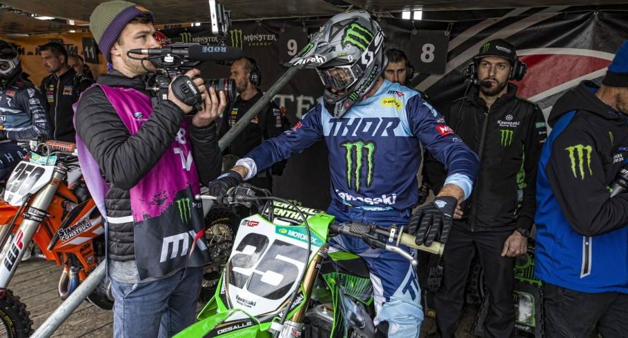 MXGP Valkenswaard 2019 Sunday race. Podium place for Jago Geerts en Clement Desalle