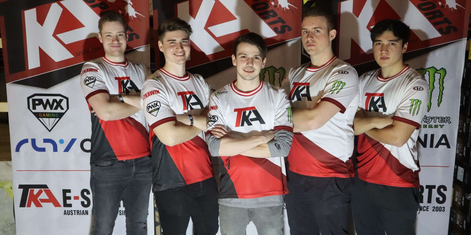 pictures from TKA E-Sports at the electronic sports festival in vienna