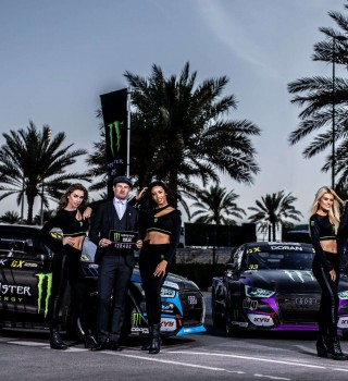Day two images from the World RX of Abu Dhabi
