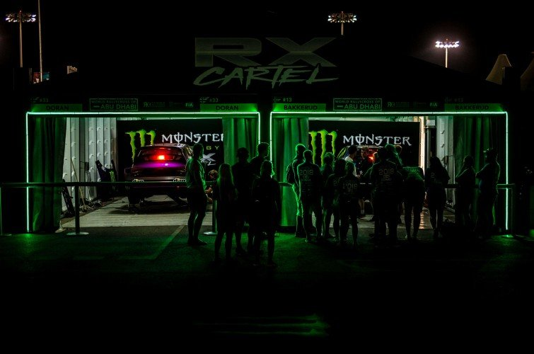 Day 2 images from the 2019 World RX of Abu Dhabi