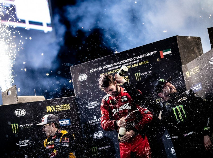 Images from day two of the 2019 World RX of Abu Dhabi