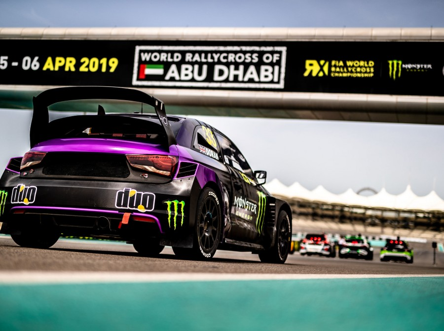 Day 1 images from the first round of the 2019 FIA World Rallycross Championship