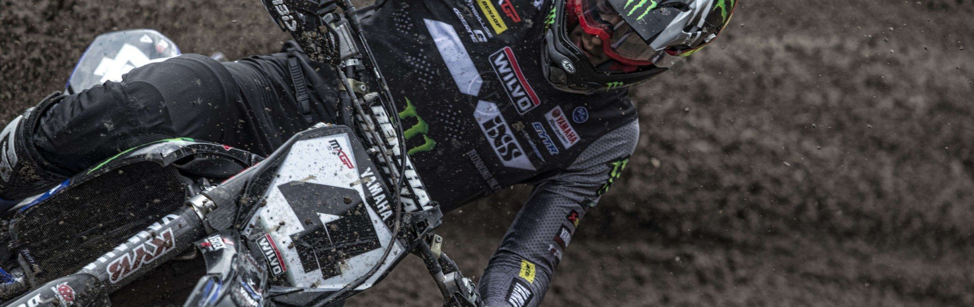 Arnaud Tonus in action at 2019 MXGP Trentino