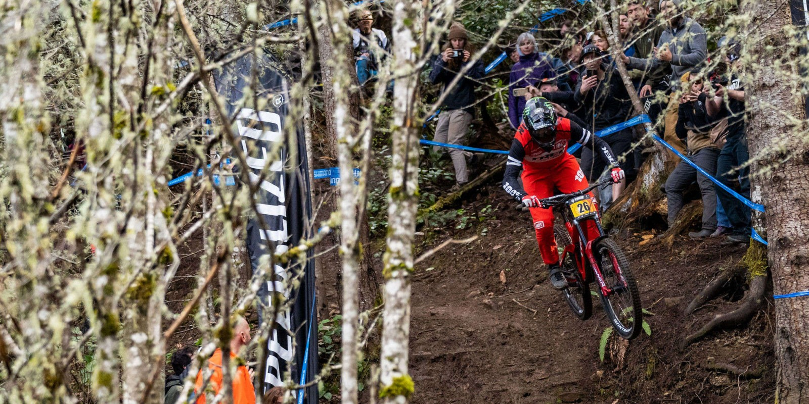 Monster Energy's Charlie Harrison (USA) has taken him the win at the first US national GRT race of the season against a stacked field.  The young Californian took home the win on a track that was about as far as he could get from the conditions he is used