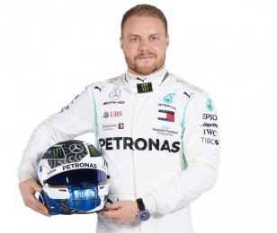 Studio images of the 2019 Mercedes-AMG Petronas Motorsport Team, car and drivers