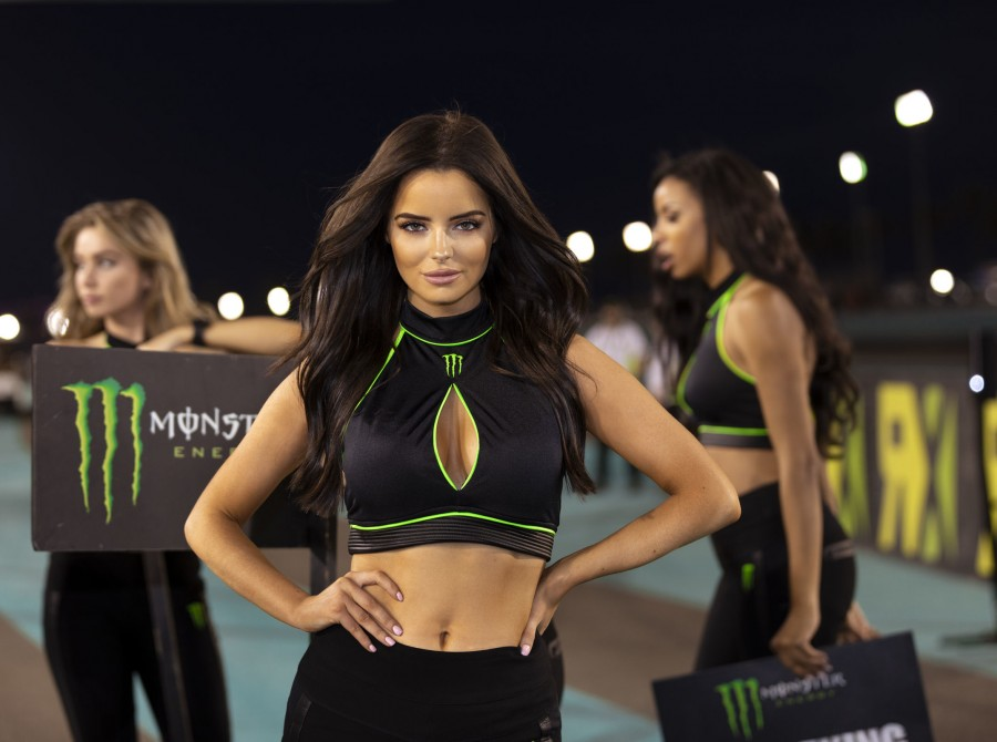 Monster Girl shots from World RX in Abu Dhabi