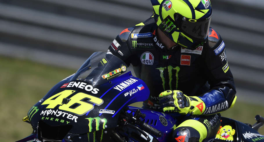 Valentino Rossi at the 2019 Grand Prix of the Americas