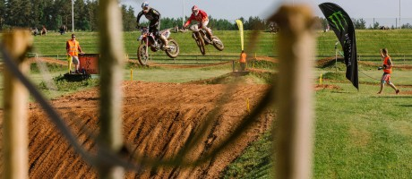 Estonian MX Championship Stage I in Tartu, Estonia. First out of four stages.
