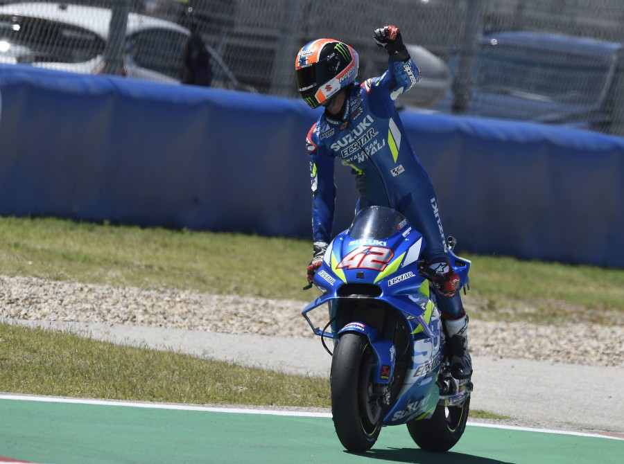 Alex Rins at the 2019 Grand Prix of the Americas