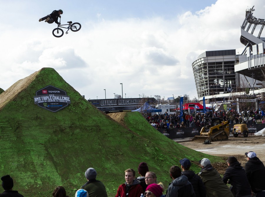 Images from the 2019 Toyota BMX Triple Challenge in Denver, Colorado
