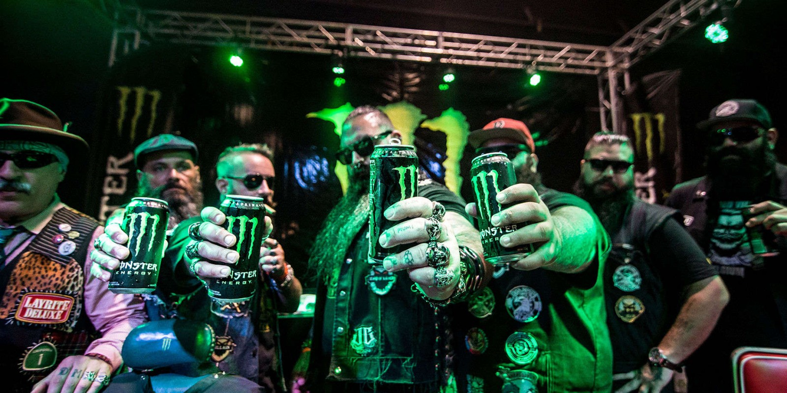 Photos from Monster The King of Barbers event in Argentina