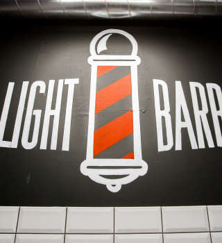 Red light Barber Shops new location opening in Vilnius, Lithuania  + Birthday Party.