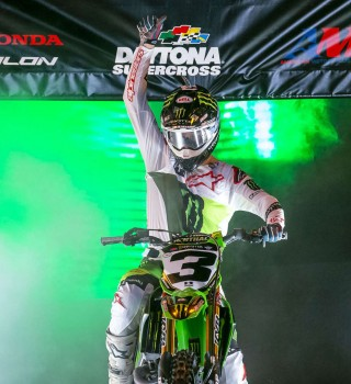 Monster athletes compete in Round 10 of the 2019 Supercross season in Daytona