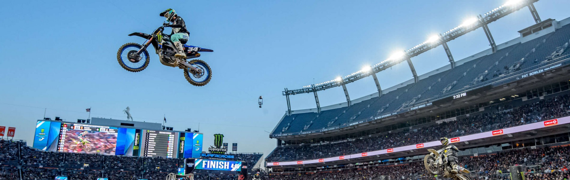 Shots from Supercross in Denver, Colorado