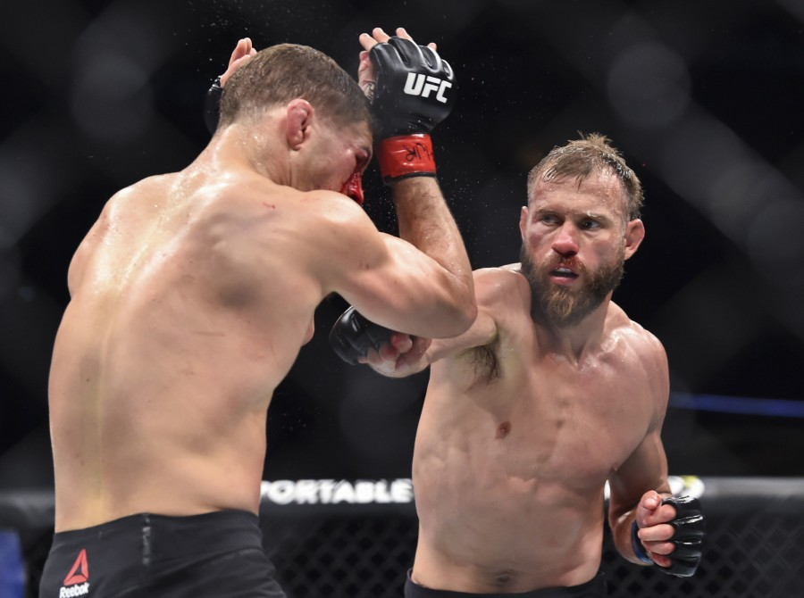 UFC Fight Night: Iaquinta vs. Cowboy is an ongoing mixed martial arts event produced by the Ultimate Fighting Championship that will be held on May 4, 2019 at the Canadian Tire Centre in Ottawa, Ontario, Canada.