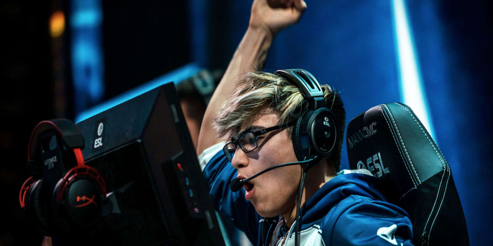 Photos of Team Liquid's Counter-Strike Global Offensive team competing at the CSGO Major in Katowice Poland. The team placed 5th-8th after being eliminated in the quarterfinals.