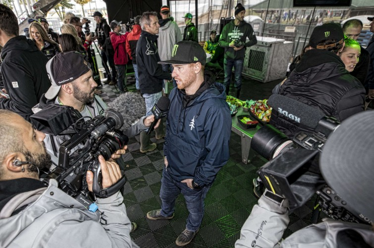 Ryan Villopoto at the 2018 Motocross of Nations