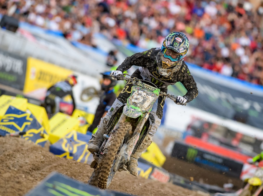 Images from the 2019 Supercross Final Event in Las Vegas, Nevada
