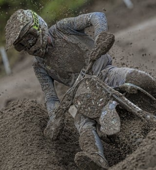 Gautier Paulin in action at MXGP Mantova 2019