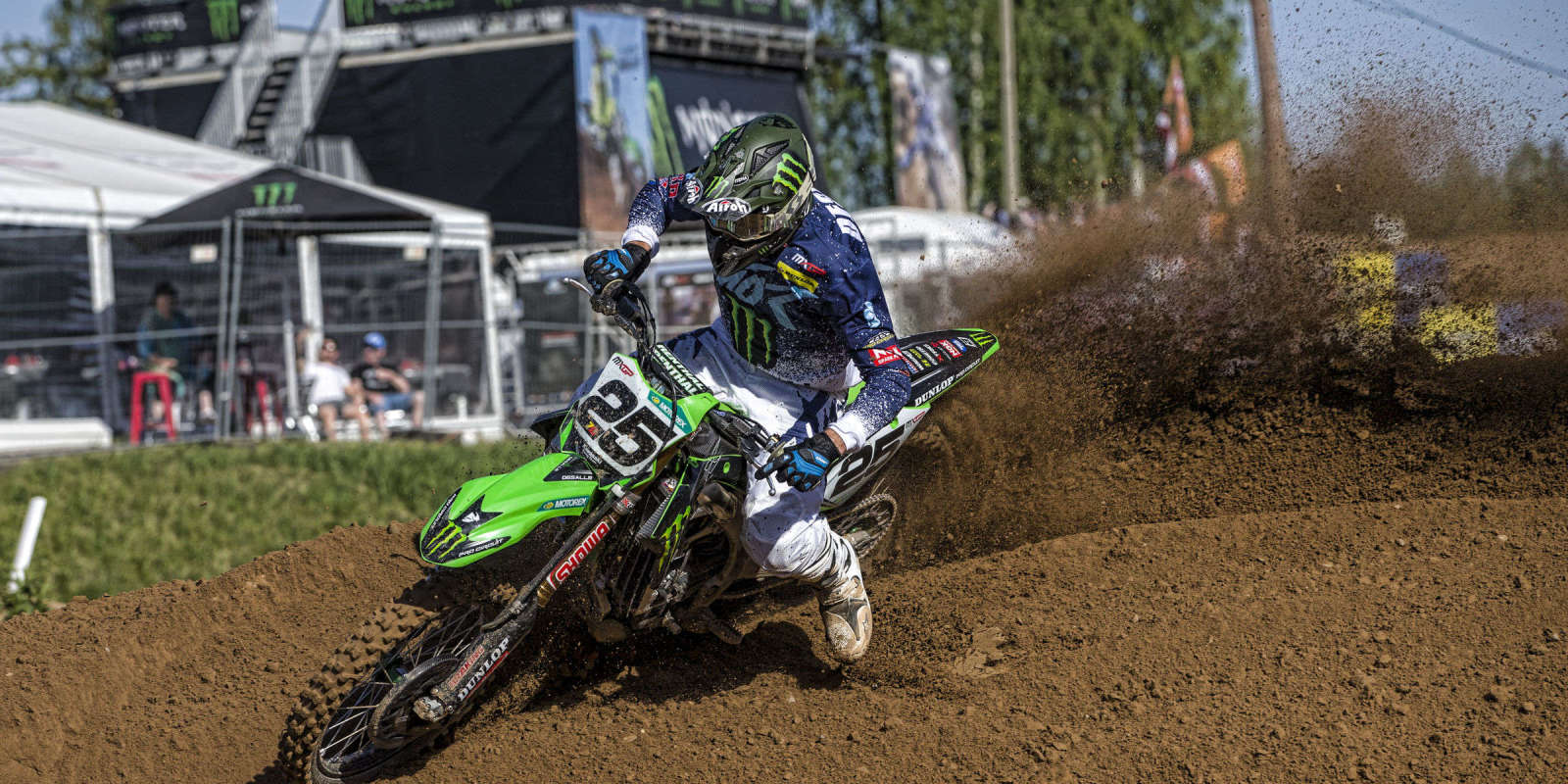 Clement Desalle at the 2018 Grand Prix of Latvia