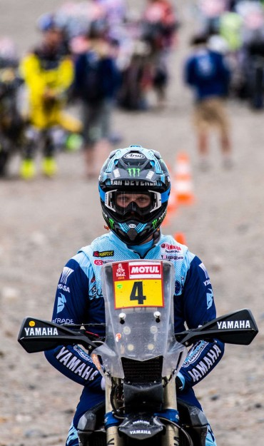 Adrien van Beveren at the 2019 Dakar