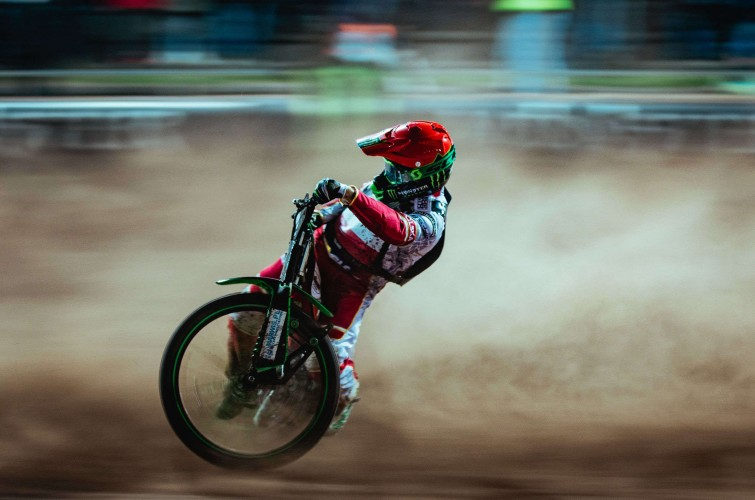 Images from the opening round of the 2019 Speedway of Nations tournament in Landshut, Germany