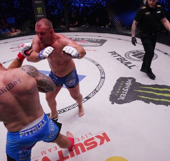 Images from KSW 49 MMA gala in Gdańsk. Poland.