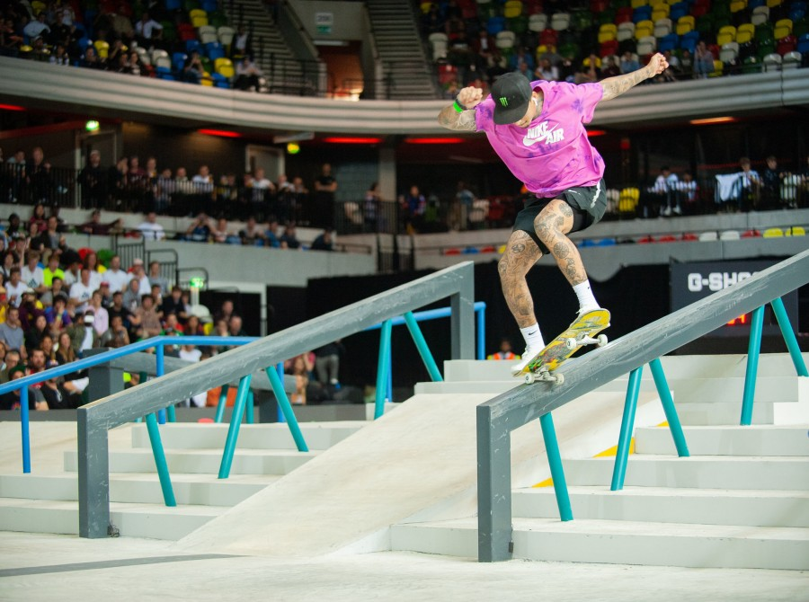 Nyjah Huston Takes First Place At SLS London