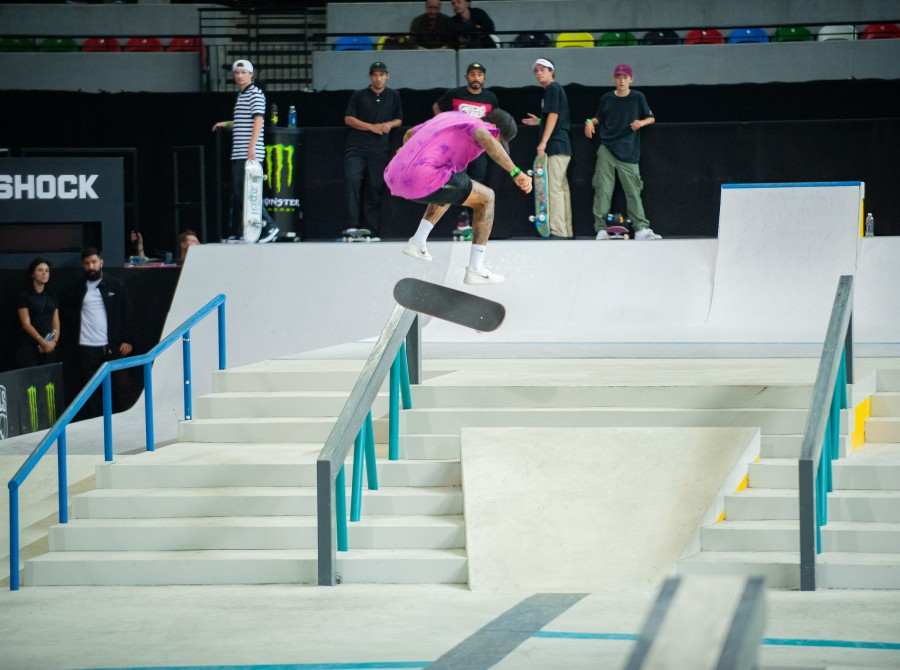 Images from the 2019 Street League Series in London