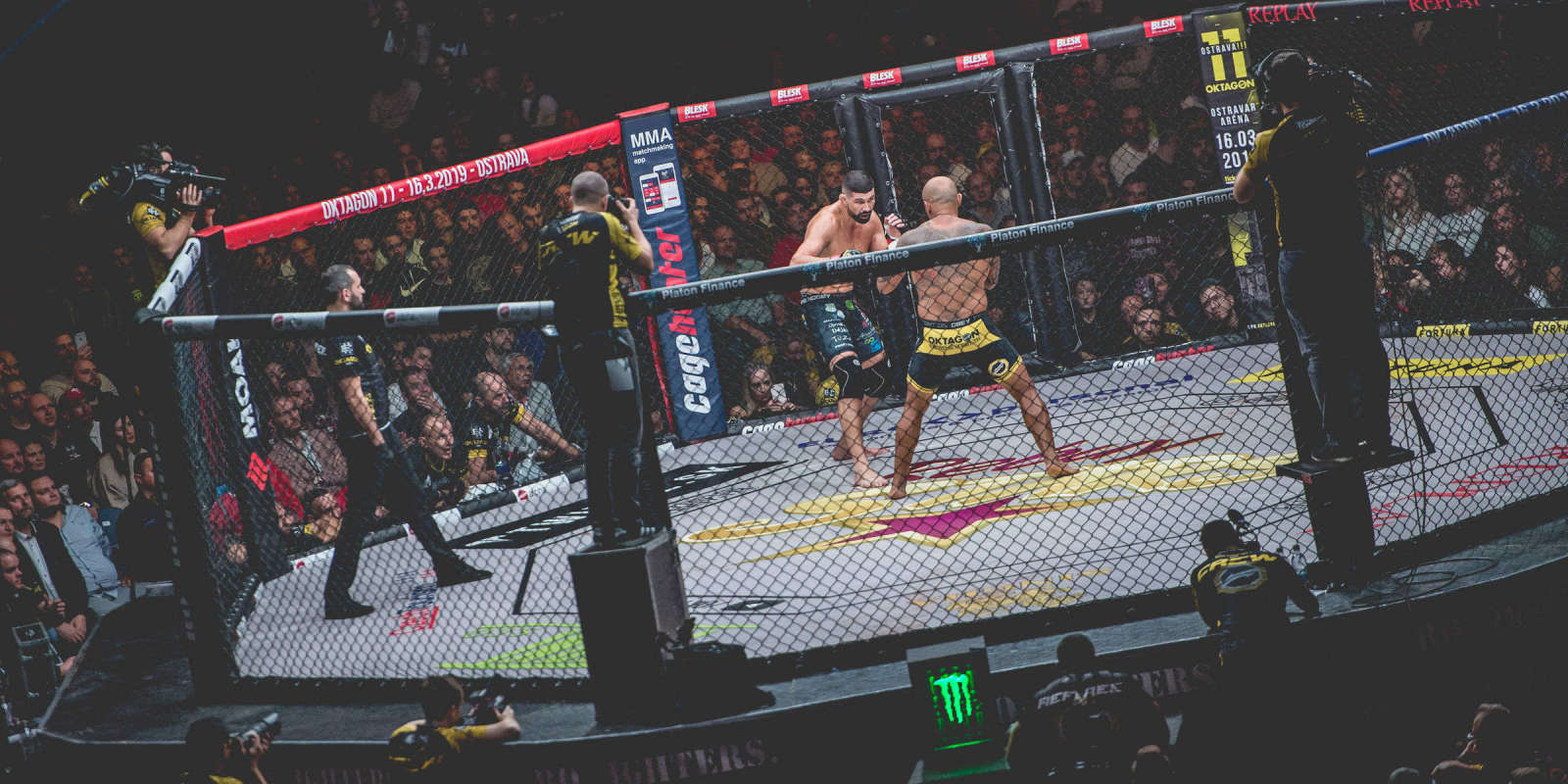 10th issue of popular Czech-Slovak MMA tournament taking place in O2 arena in PRague