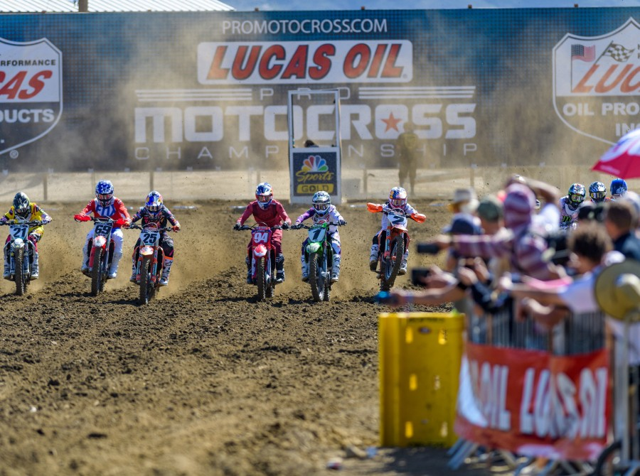 Images from the Fox Raceway National in Pala, California