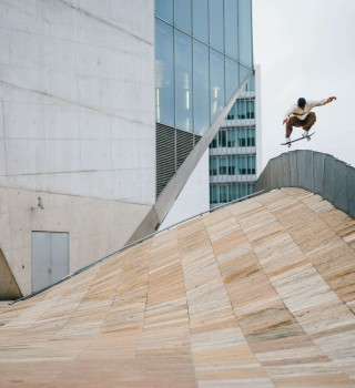 Euro skate team trip to Portugal in spring 2019 visiting iconic street skating spots around the country.