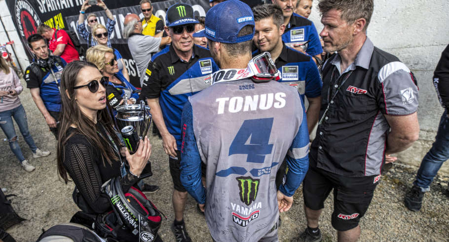 Action shots from 2019 France MXGP in Saint Jean d'Angely
