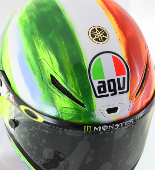 Valentino Rossi special edition helment for Mugello GP 2019