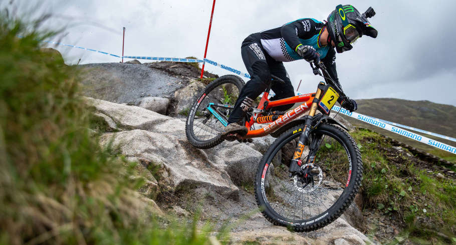 Images from the Downhill World Cup in Fort William, United Kingdom
