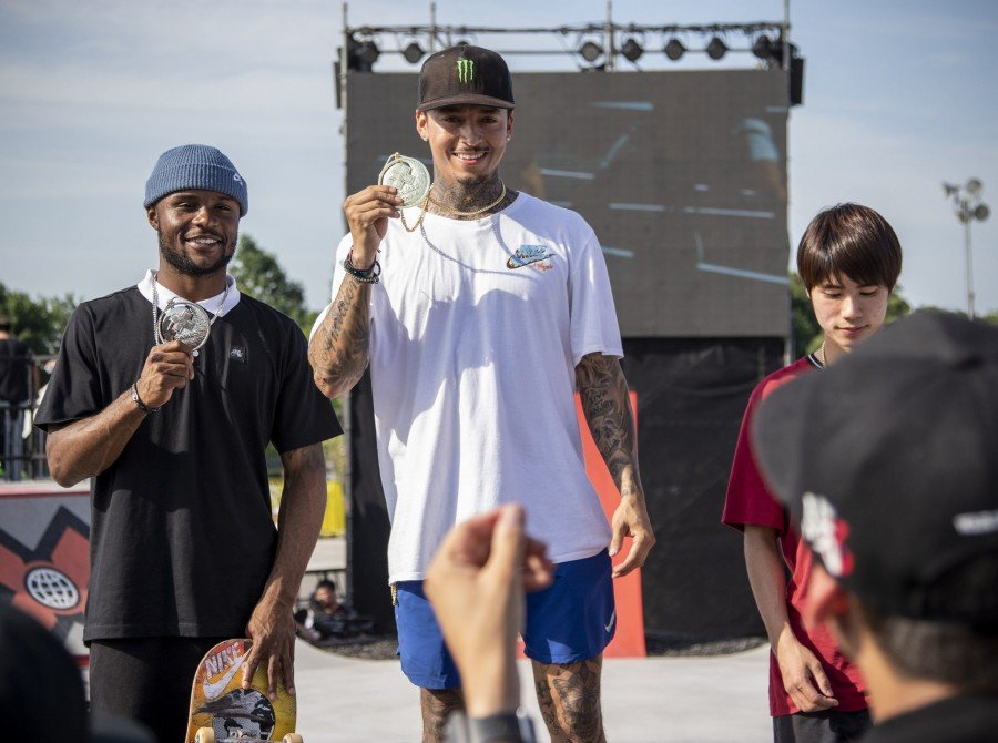 Images from the 2019 Skateboard portion at the X Games event in Shanghai, China