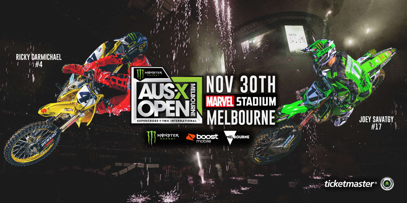 AUSX Open Web Banners for events page on ME.com