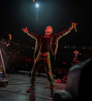 Image from the 2018 Machine Gun Kelly Tour in New Orleans, LA