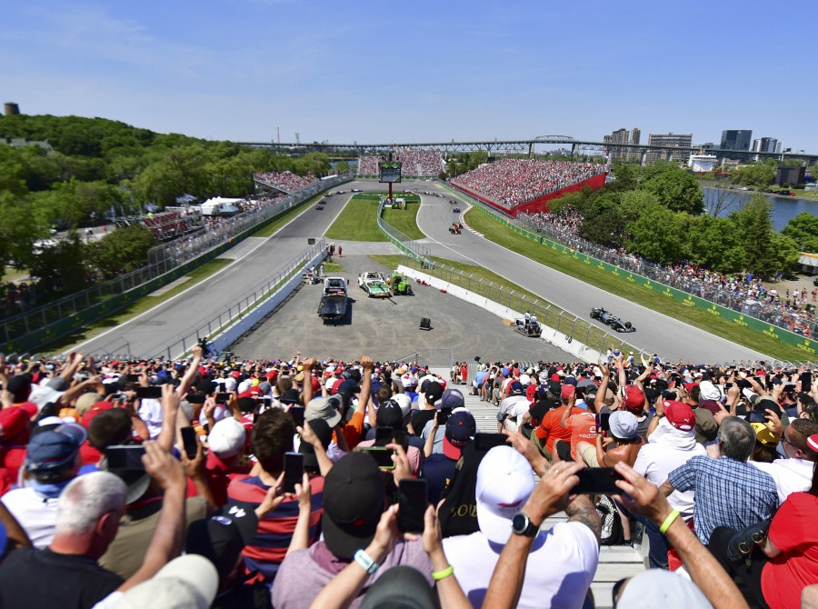 Images from the 2019 Canadian F1 Grand Prix